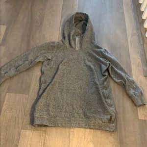 Long sweater/ sweater dress from Roots.